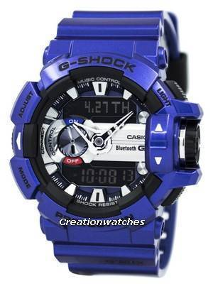 Casio G-Shock G'MIX Bluetooth Smart World Time Analog-Digital GBA-400-2A Men's Watch