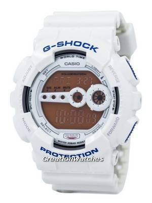 Casio G-Shock GD-100SC-7DR GD-100SC-7 GD100SC-7 Men's Watch