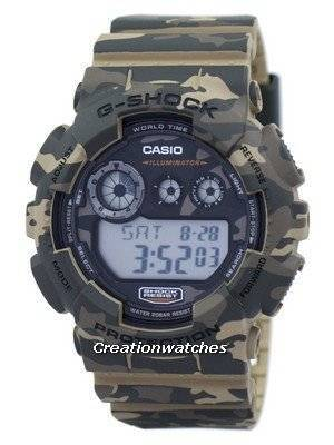 Casio G-Shock Digital Camouflage Series GD-120CM-5 Men's Watch