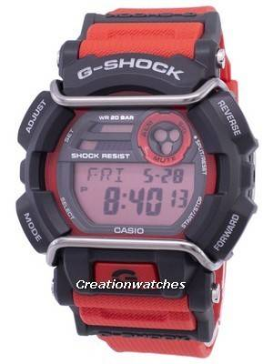 Casio G-Shock Flash Alert Super Illuminator 200M GD-400-4 Men's Watch
