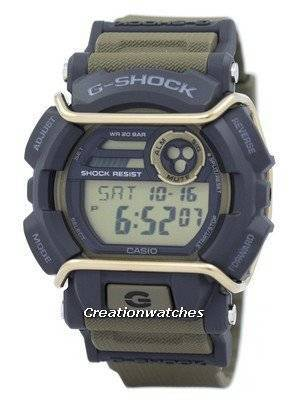 Casio G-Shock Flash Alert Super Illuminator 200M GD-400-9 Men's Watch