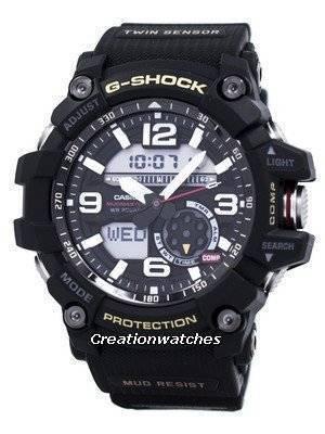 Casio G-Shock MUDMASTER Twin Sensor GG-1000-1A GG1000-1A Men's Watch