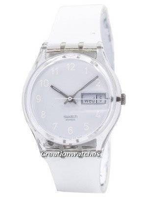 Swatch Originals Snowcovered Swiss Quartz GK733 Unisex Watch