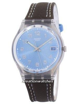 Swatch Originals Blue Choco Swiss Quartz GM415 Unisex Watch