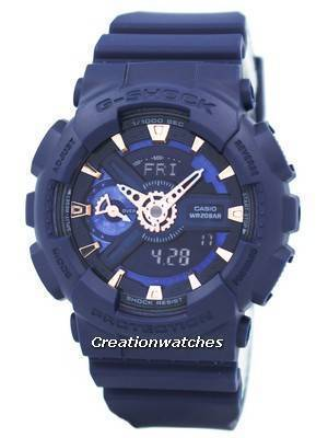 Casio G-Shock S Series Analog Digital World Time GMA-S110CM-2A Men's Watch