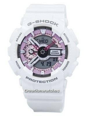 Casio G-Shock S Series Analog-Digital GMA-S110MP-7A GMAS110MP-7A Women's Watch