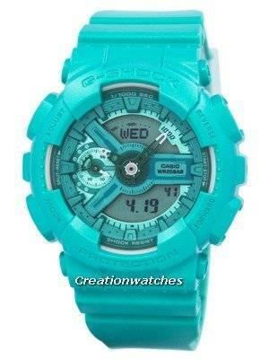 Casio G-Shock S Series Analog-Digital 200M GMA-S110VC-3A Women's Watch