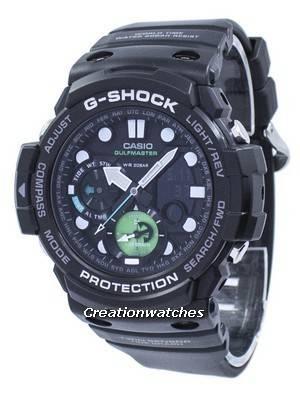 Casio G-Shock Gulfmaster Twin Sensor World Time GN-1000MB-1A GN1000MB-1A Men's Watch