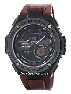 Casio G-Shock G-Steel Analog-Digital World Time GST-210M-4A Men's Watch