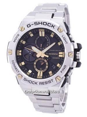 Casio G-Shock G-Steel Tough Solar Bluetooth GST-B100D-1A9 GSTB100D-1A9 Men's Watch
