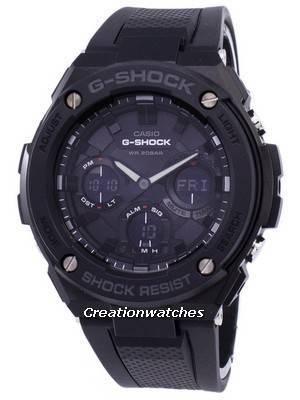 Casio G-Shock G-STEEL Analog-Digital World Time GST-S100G-1B GSTS100G-1B Men's Watch