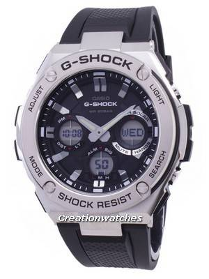 Casio G-Shock G-STEEL Analog-Digital World Time GST-S110-1A Men's Watch