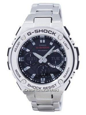 Casio G-Shock G-STEEL Analog-Digital World Time GST-S110D-1A GSTS110D-1A Men's Watch