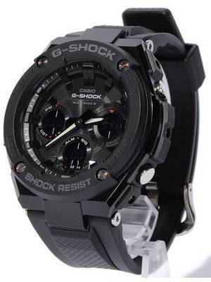 Casio G-Shock G-Steel Multi Band 6 Analog-Digital GST-W100G-1B Men's Watch