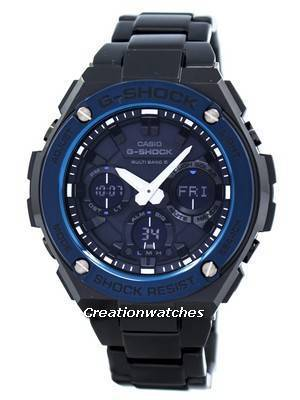 Casio G-Shock G-Steel Multi Band 6 Analog-Digital GST-W110BD-1A2 Men's Watch