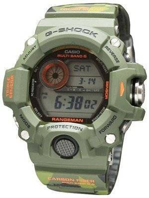 "Casio G-Shock Rangeman Atomic ""MEN IN CAMOUFLAGE"" GW-9400CMJ-3JR Men's Watch"