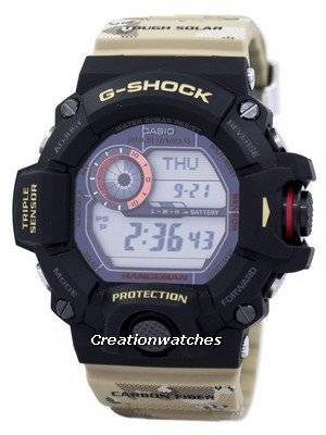 Casio G-Shock MULTIBAND 6 World time Tough Solar GW-9400DCJ-1 Men's Watch