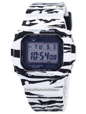 Casio G-Shock Digital Tiger Camouflage Multi Band 6 GW-M5610BW-7 Men's Watch