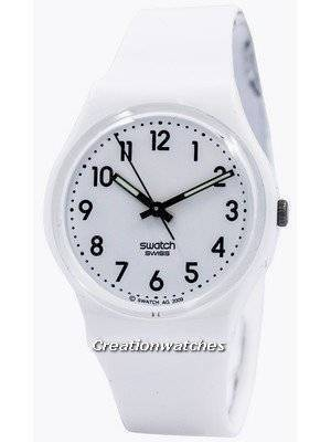 Swatch Originals Just White Swiss Quartz GW151 Unisex Watch