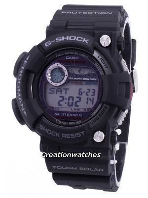 Casio G-Shock Multiband 6 Frogman 200M Diver's Moon Phase GWF-1000-1 GWF1000-1 Men's Watch