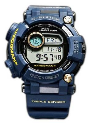 Casio G-Shock FROGMAN Multiband 6 Triple Sensor Diver's 200M GWF-D1000NV-2JFMen's Watch
