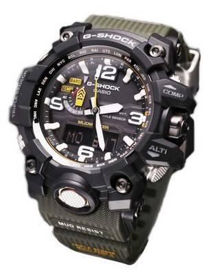 Casio G-Shock Mudmaster Triple Sensor GWG-1000-1A3JF GWG1000-1A3JF Men's Watch