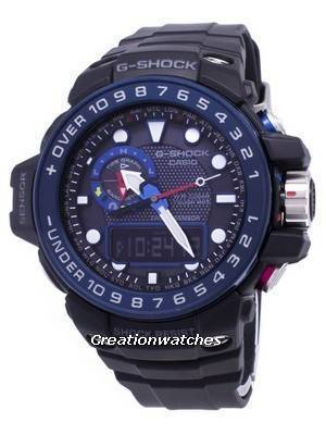 Casio GULFMASTER G-Shock Atomic Analog-Digital 200M GWN-1000B-1B GWN1000B-1B Men's Watch