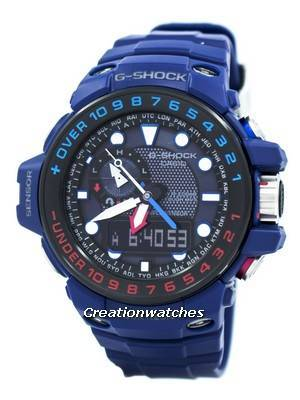 Casio G-Shock GULFMASTER Triple Sensor Atomic GWN-1000H-2A Men's Watch