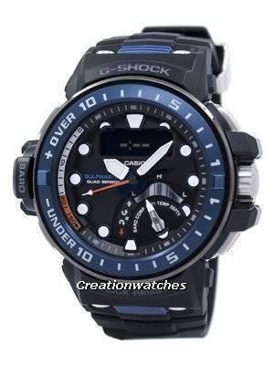 Casio G-Shock Gulfmaster Quad Sensor Shock Resistant Tough Solar GWN-Q1000-1A GWNQ1000-1A Men's Watch