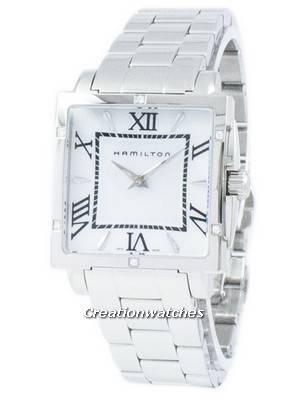 Hamilton Jazzmaster American Classics Square Quartz H32291114 Women's Watch