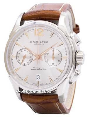 Hamilton Jazzmaster Automatic Chronograph Power Reserve Swiss Made H32606555 Men's Watch