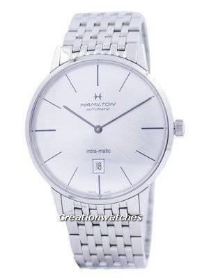 Hamilton Intra-Matic Untra-slim Automatic H38755151 Men's Watch