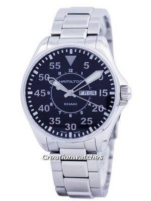 Hamilton Khaki Pilot Quartz H64611135 Men's Watch