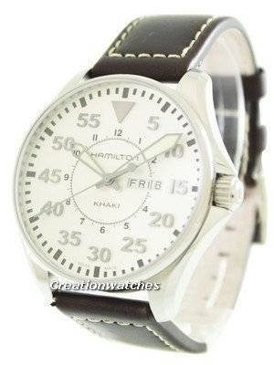 Hamilton Khaki Pilot Quartz H64611555 Men's Watch
