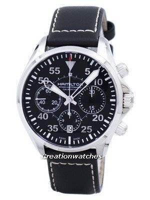 Hamilton Khaki Aviation Pilot Auto Chrono H64666735 Men's Watch