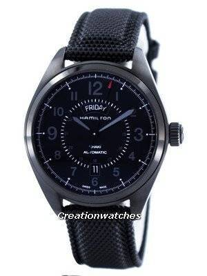 Hamilton Khaki Field Day Date Automatic Swiss Made H70695735 Men's Watch