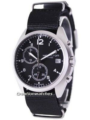 Hamilton Khaki Aviation Pilot Pioneer Chronograph H76552433 Men's Watch