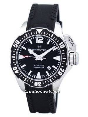 Hamilton Khaki Navy Frogman Automatic H77605335 Men's Watch
