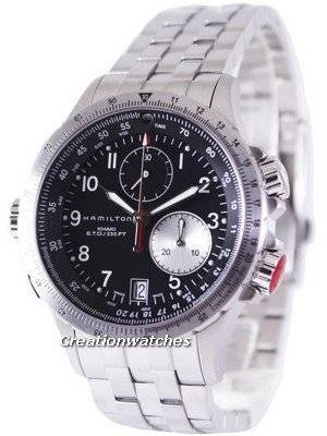 Hamilton Khaki ETO Chronograph H77612133 Men's Watch