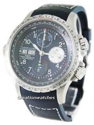 Hamilton Khaki Navy Automatic X-Wind H77636343 Mens Watch