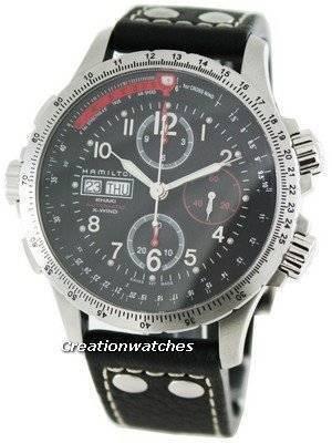Hamilton Pilot Khaki X-Wind H77646733 Mens Watch
