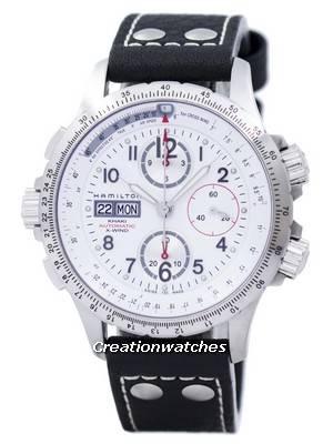 Hamilton Khaki X-Wind Chronograph Automatic H77656713 Men's Watch