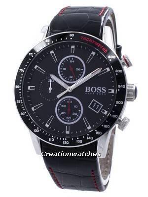 Hugo Boss Rafale Chronograph Tachymeter Quartz 1513390 Men's Watch