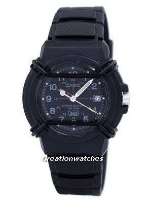 Casio Enticer Analog Black Dial HDA-600B-1BVDF HDA600B-1BVDF Men's Watch