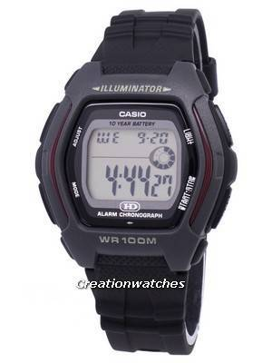 Casio Digital Alarm Chronograph Illuminator HDD-600-1AVDF HDD-600-1AV Men's Watch