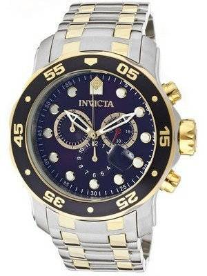 Invicta Pro-Diver Chronograph Blue Dial 0077 Men's Watch