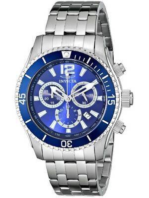Invicta II Specialty Blue Dial Chronograph 0620 Men's Watch