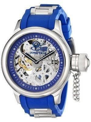 Invicta Russian Diver Skeleton Blue Strap 1089 Men's Watch