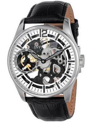 Invicta Vintage Mechanical Skeleton Silver Dial 12403 Men's Watch