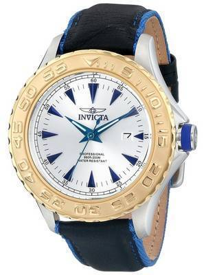 Invicta Pro Diver Quartz Silver Dial 200M 12615 Men's Watch